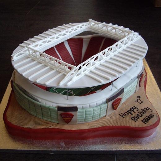 Arsenal Emirates Stadium Cake Ultimate Cake Art