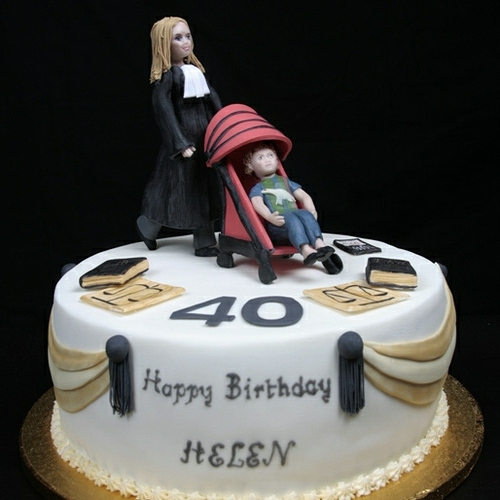 Solicitor Mom Celebrates 40th Birthday Ultimate Cake Art
