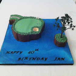 Sawgrass 17th Hole Cake
