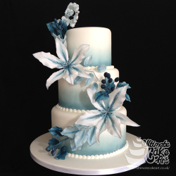 Blue-and-White-Wedding-Cake
