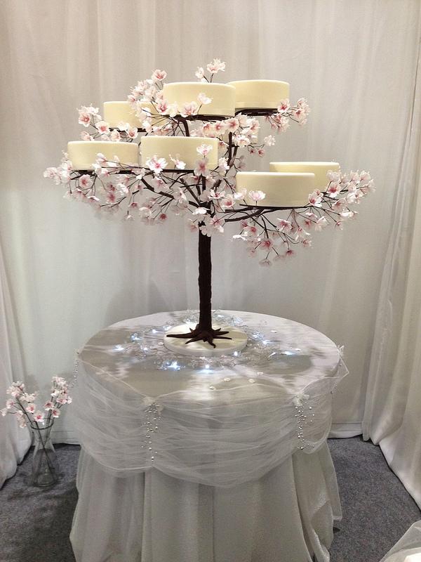 Cherry Blossom Tree Cake