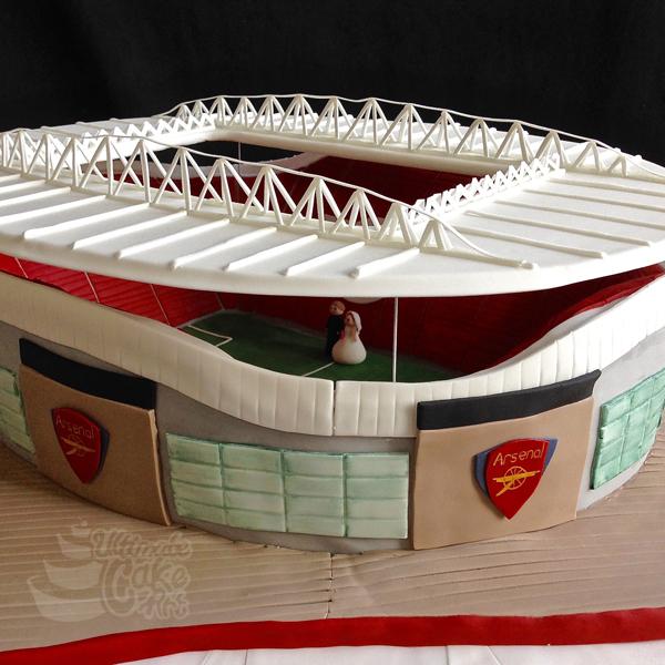 Arsenal Stadium Cakes