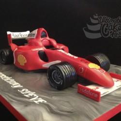 Formula-1-cake