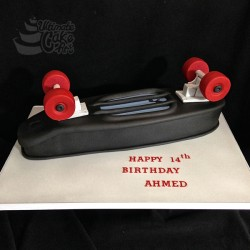 Skateboard-cake