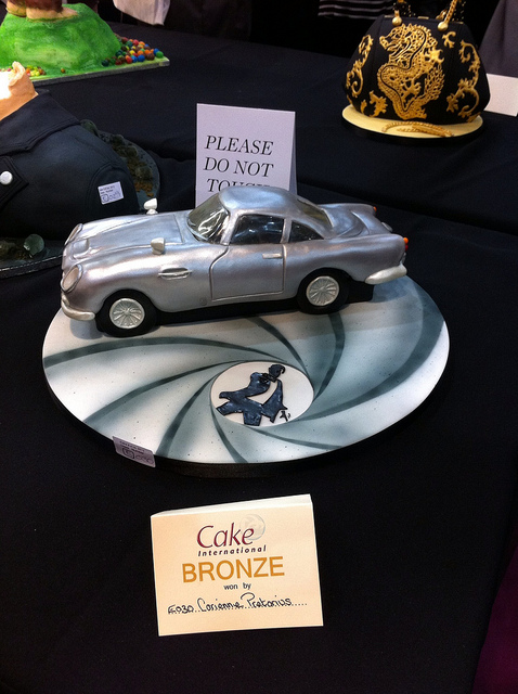Cake International 2013 – Bronze Award