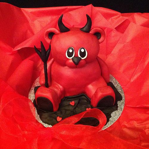 Valentine Little Devil Cake