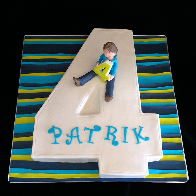 Patrick 4 Years Old Cake