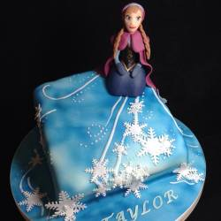 Princess Anna from the Frozen Movie