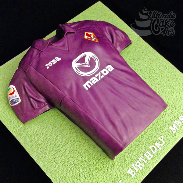 Fiorentina-Football-Shirt-cake
