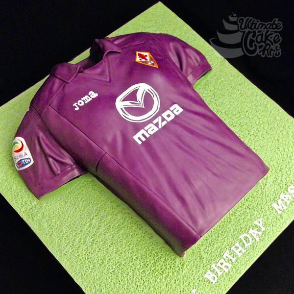 Fiorentina-Football-Shirt-cake